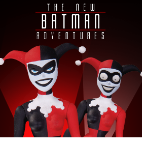 NEW BATMAN ADVENTURES HARLEY QUINN FIGURE