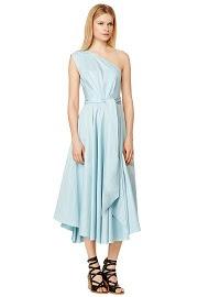 Tibi Mizu Poplin Dress