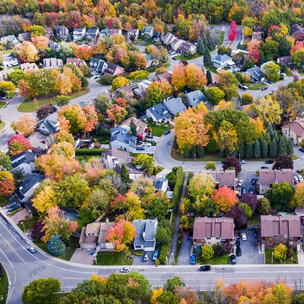 Canadian neighbourhood