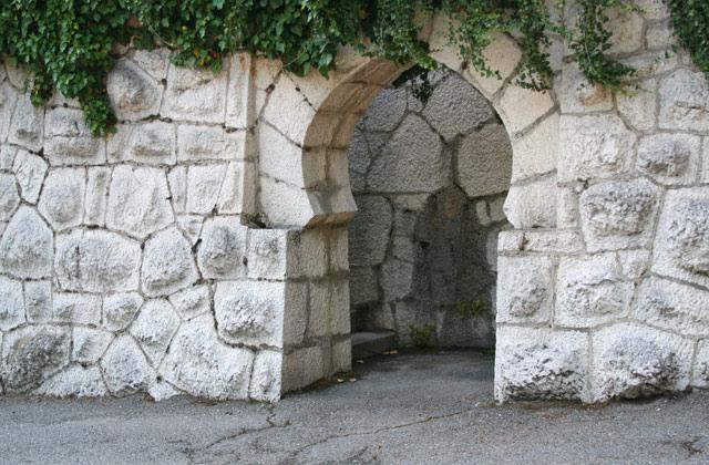 Проход в стене дворца Дюльбер | Дюльбер