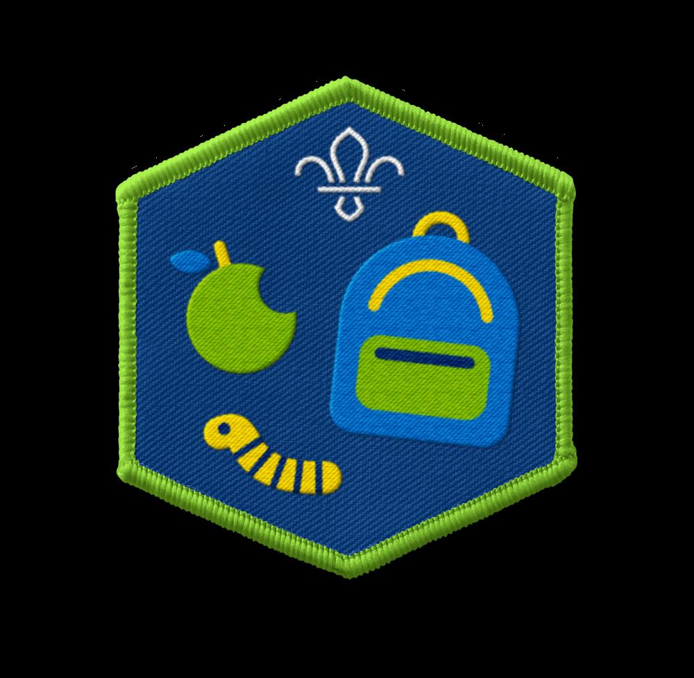 Challenge all adventure badge