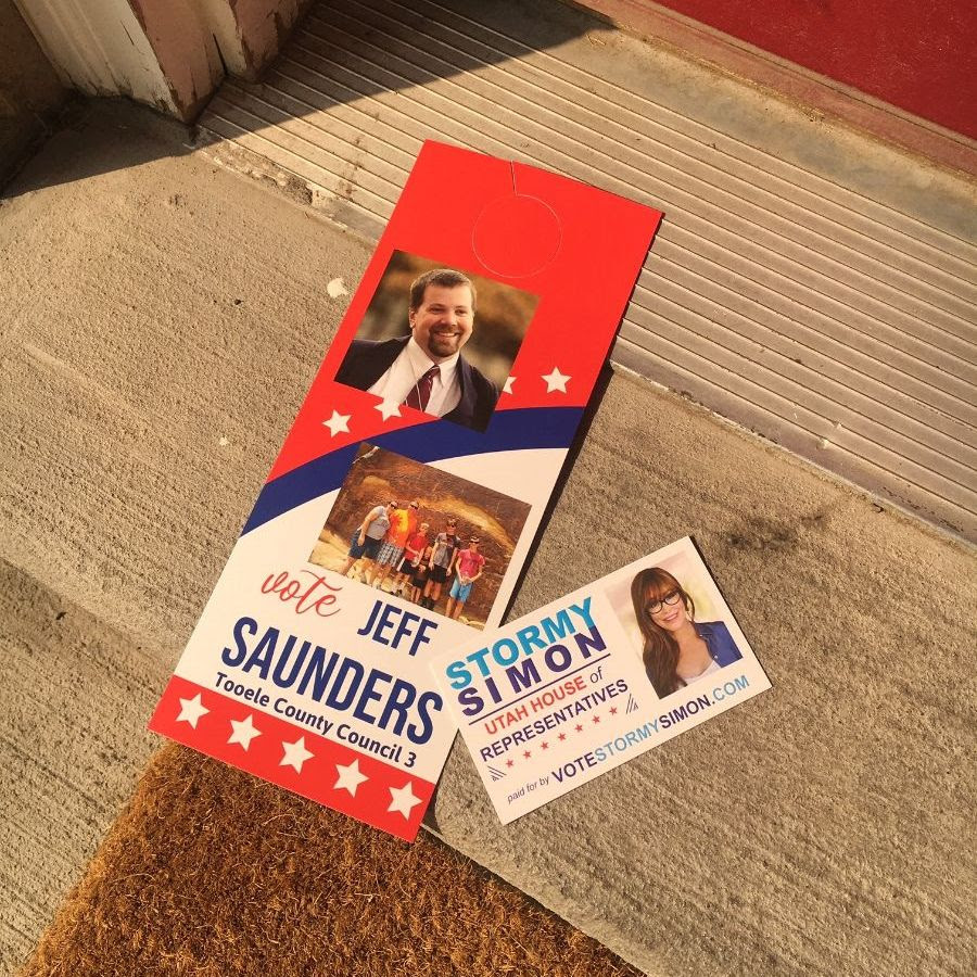 Canvassing in Tooele