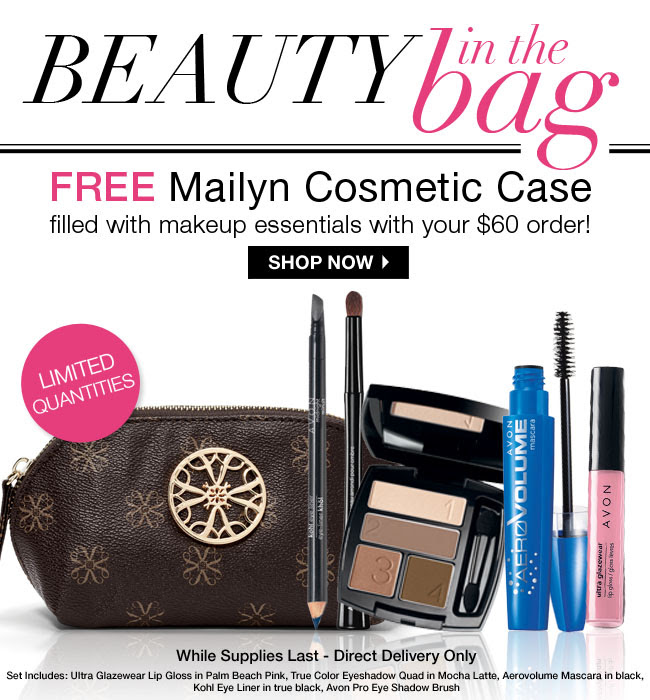 FREE Mailyn Cosmetic Case!