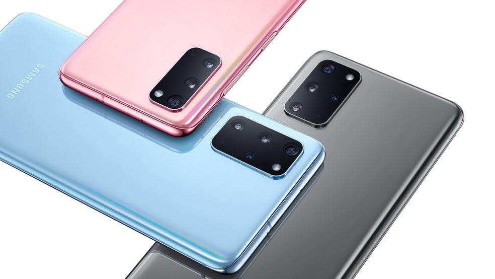 Galaxy S20, linha principal de celulares da Samsung para 2020. — Foto: Divulgação