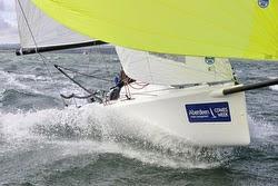 J/70 sailing at AAM Cowes Week