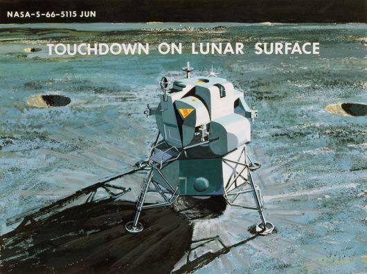 Lunar Module touchdown