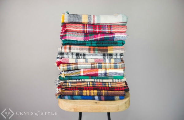 Style Steals - Blanket Scarf f...