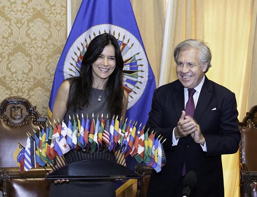 OEA designa a Patricia Velásquez Embajadora de Buena Voluntad por los Derechos de los Pueblos Indígenas