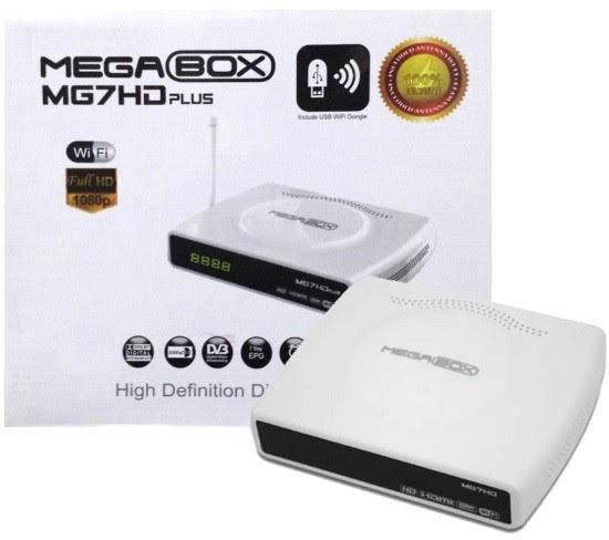 receptor digital megabox mg7hd plus1 - MEGABOX MG7 HD PLUS NOVA ATUALIZAÇÃO V1.60 - 22/01/2018