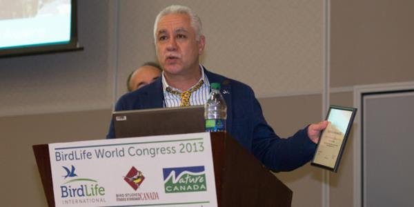 SPNL Director General at BirdLife Congress in Canada