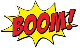 boom on white backgroun 2