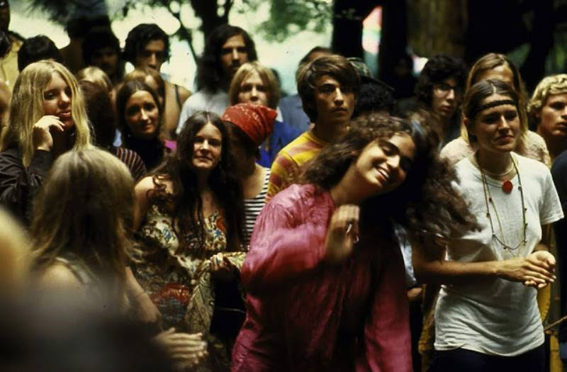 46 Years Ago Today, 500,000 People Descended On A Farm For The Greatest Music Festival Of All Time Grooving