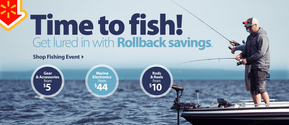 Shop Fishing Rollbacks at Walm...
