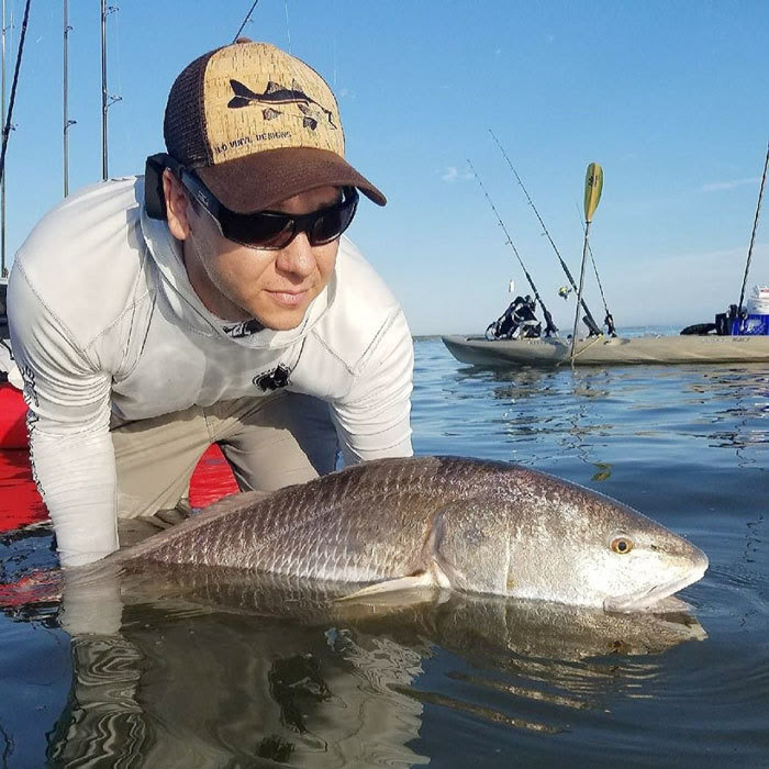 Ritchey with red drum