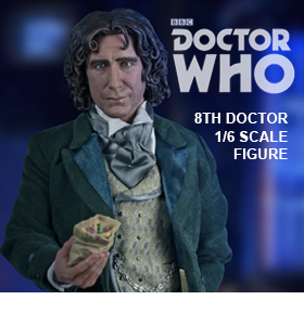 1/6 SCALE EIGHTH DOCTOR FIGURE