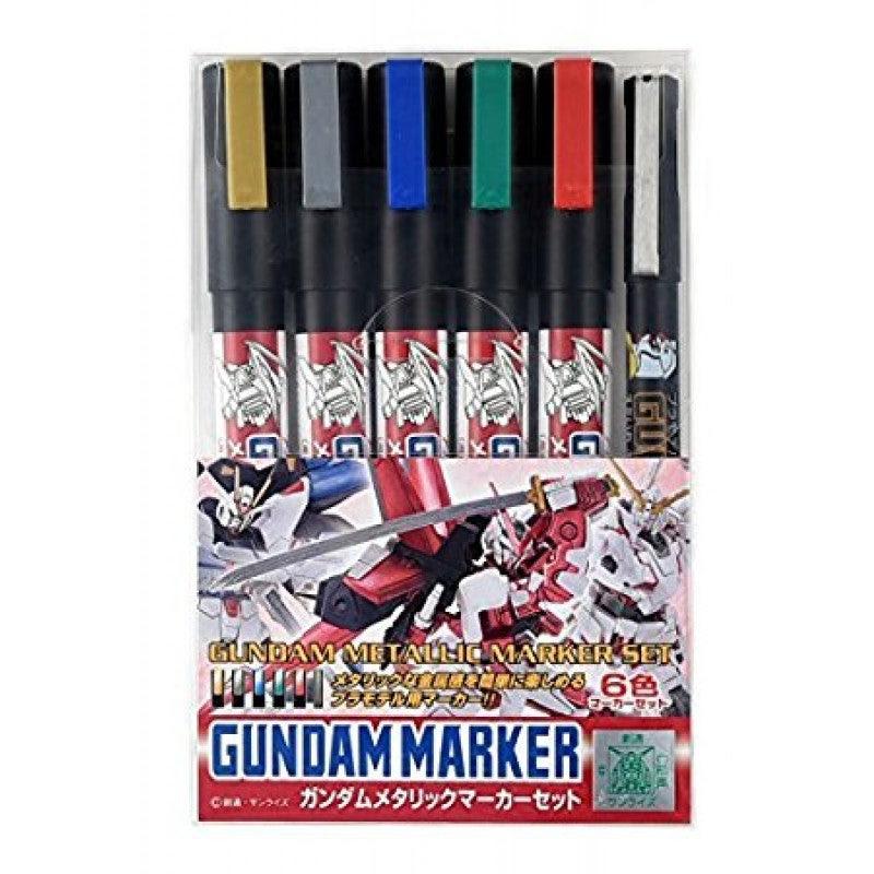 Image of GMS121 Gundam Metallic Marker Set