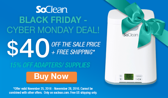 SoClean - The world's 1st automated CPAP sanitizer