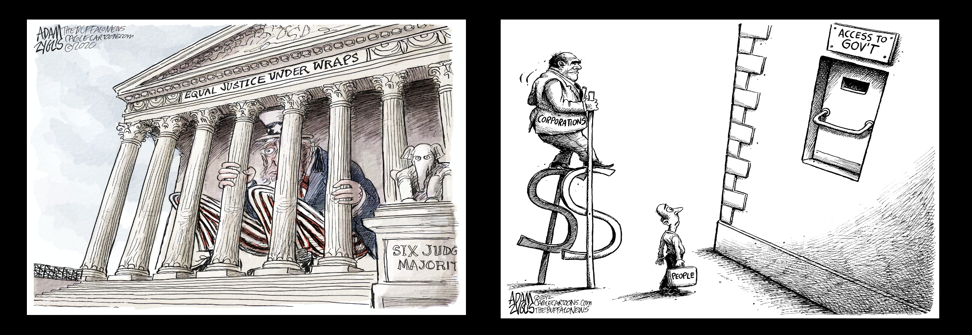 Republicans stack Supreme Court to pass Citizens United that opens flood gates to special interest money in elections