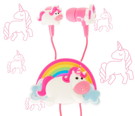Unicorn Earbuds and Winder