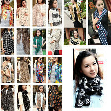 Lady Women Long Chiffon Scarf Wraps Shawl Stole Soft Scarves New Fashion Winter