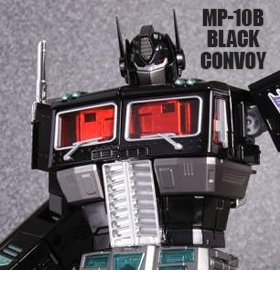 TRANSFORMERS MASTERPIECE BLACK CONVOY