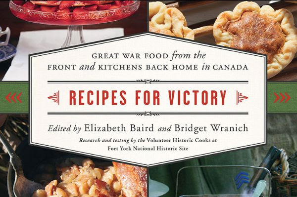 Book cover of Recipes for Victory.