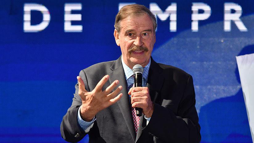 """Vicente Fox: """"De todo corazón, ayudaré a pagar el muro"""""""