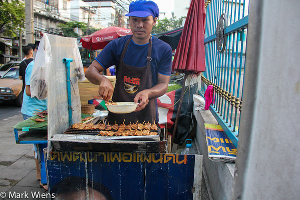 Thai street food in Bangkok