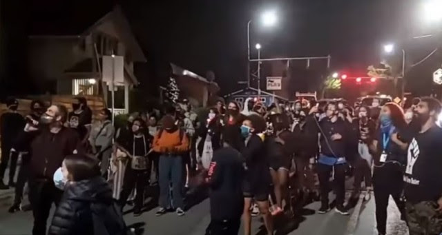 Unhinged Liberal Mobs Marching Demanding YOU Give Black Families YOUR HOME! [VIDEO]