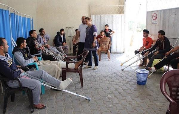 Gaza: Médicos sin Fronteras denuncia heridos muy graves en aniversario de la Nakba