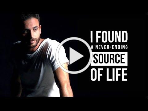 Jewish Israeli Yoav found a source of life that will never run dry!