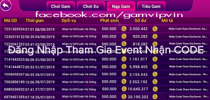 Cách nhận Code Tân Thủ Gamvip - G88vin - 1G88.vin miễn phí 2020 SNboPDx