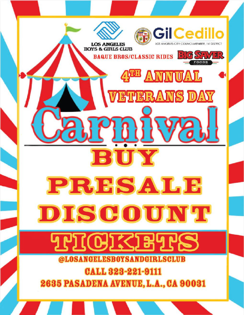 Lincoln Heights Carnival Discount Tickets