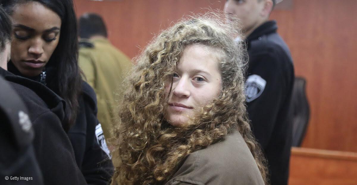 Amnistía Internacional: ¡Libertad inmediata para la 'Rosa Parks palestina' de 16 años Ahed Tamimi!