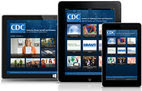 Different devices with CDC App on screen