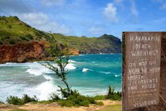 شاطئ هانكابياي – هاواي