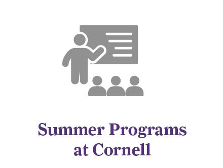 Summer programs at Cornell