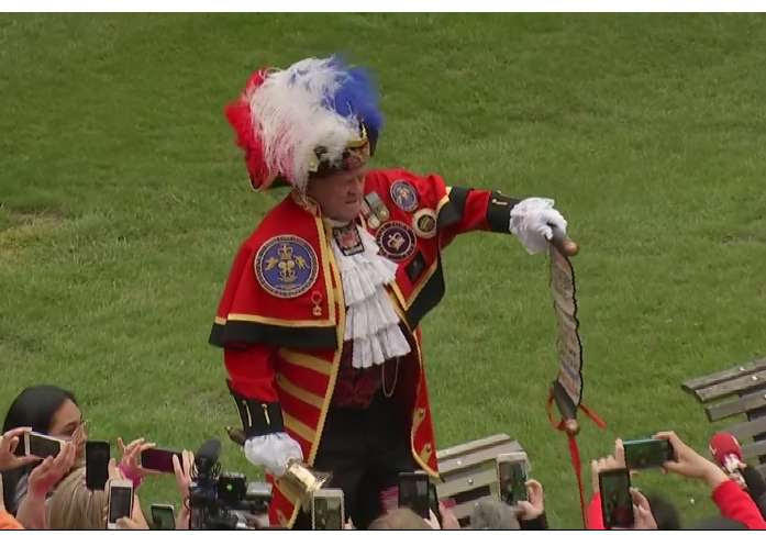picture of town crier