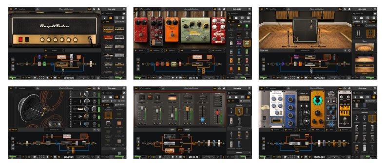 AmpliTube 5 GUI - Image