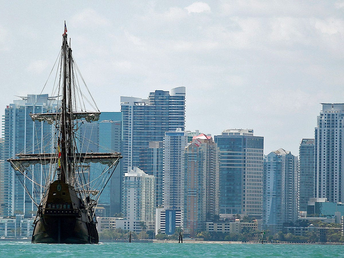 Miami is a financial gateway to the Americas.