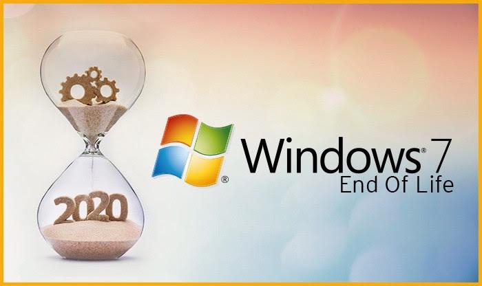 Koniec wsparcia dla Windows 7! >> Zadbaj o bezpieczeństwo swoich danych.