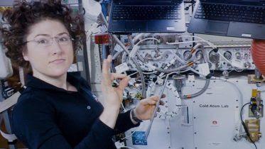 Cold Atom Lab NASA Astronaut Christina Koch