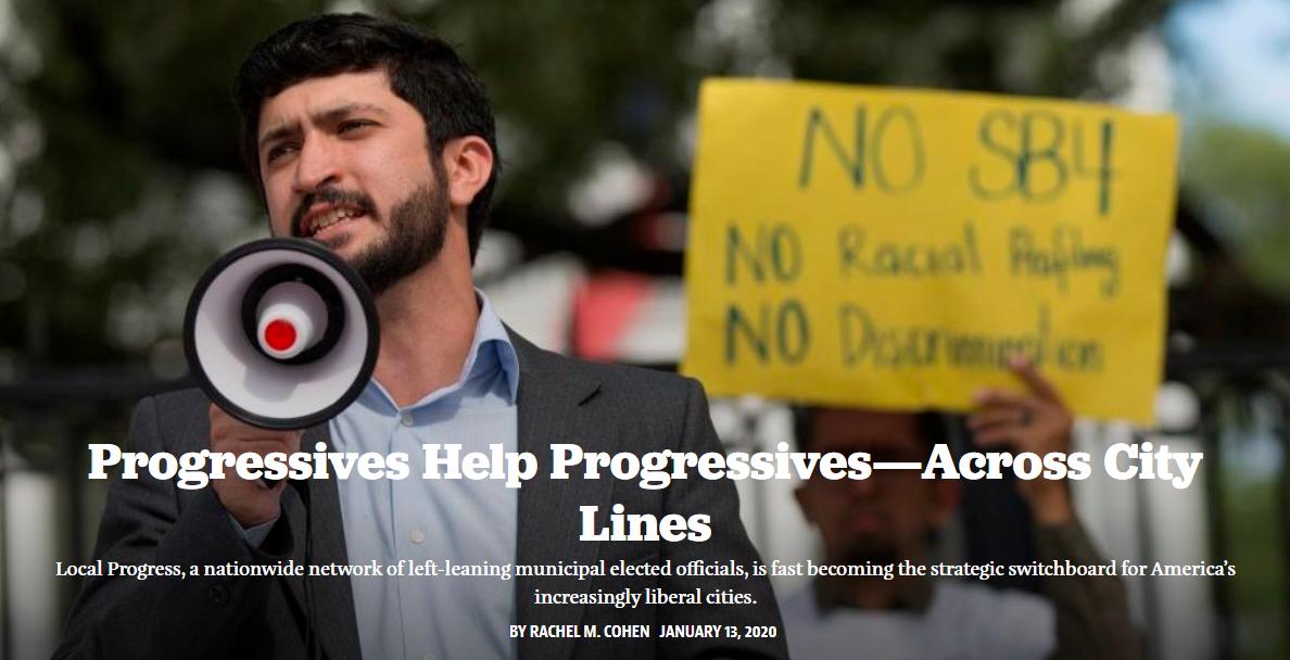 Progressives Help Progressives—Across City Lines (The American Prospect)