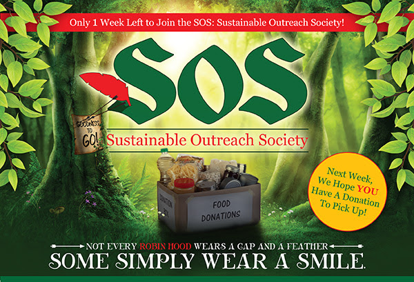 Only 1 Week Left To Join The SOS: Sustainable Outreach Society!
