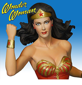 LYNDA CARTER AS WONDER WOMAN MAQUETTE