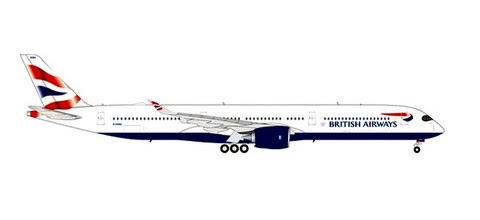 Airbus A350-1000 British Airways (plastic) G-XWBA| is due: October/November 2019