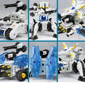 Astracraft Series Box of 6 Figures