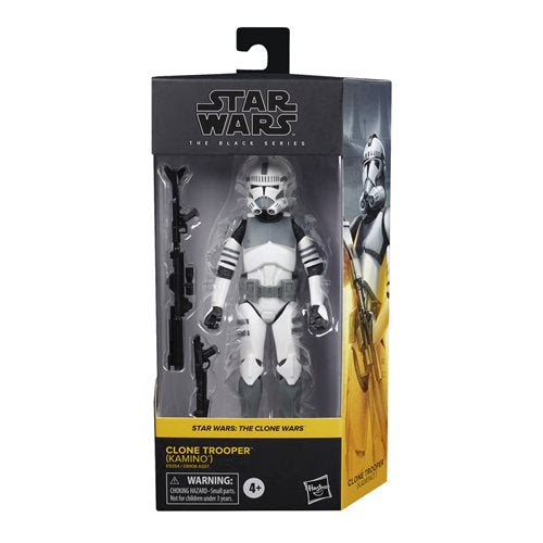 Image of Star Wars The Black Series Wave 5 (2020) Clone Trooper (Kamino) 6-Inch Action Figure