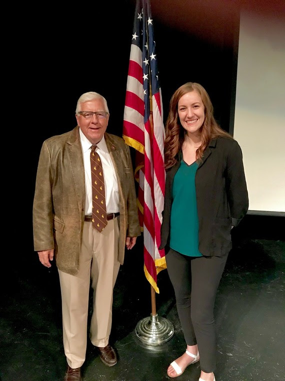 Senator Enzi and Kari Eakins Native American Education Conference