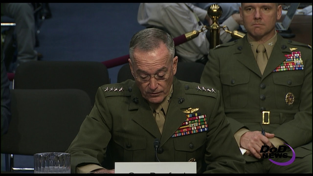 Dunford Looks to Future in Renomination Hearing